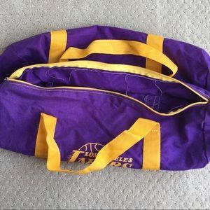 Bags - Like new Lakers duffle bag